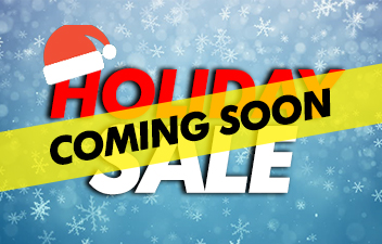 Annual Holiday Sale Coming Soon